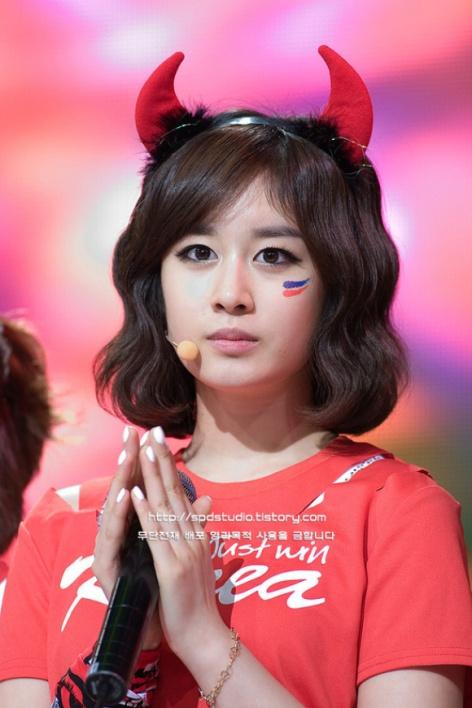 Photos] Jiyeon (T-ara) on Just Win Korea (2010) | yoontaeyeon