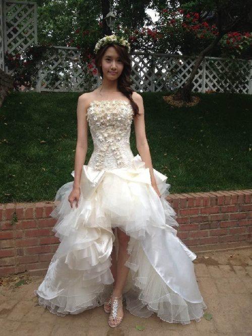 Yoona with wedding dress in Love Rain Ep 20