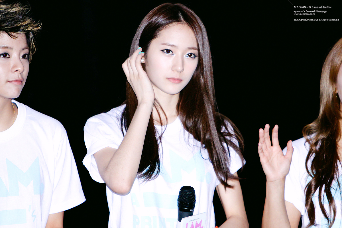 Krystal Jung And Yoona [photos] 12.06.24 f(x) krystal F(x) Electric Shock Krystal