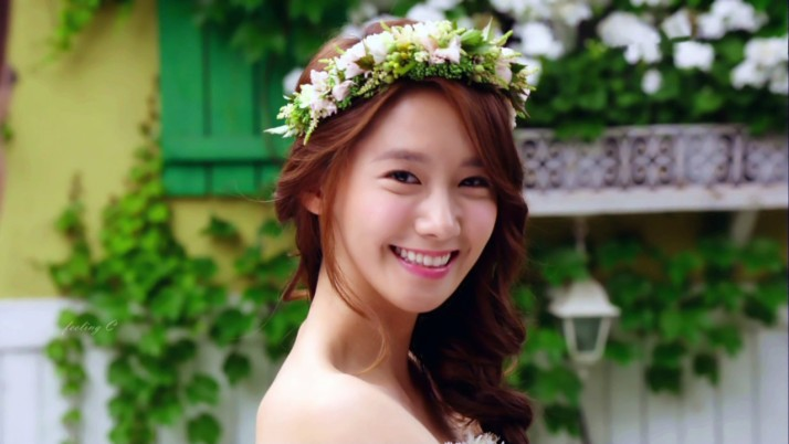 Yoona with wedding dress in Love Rain