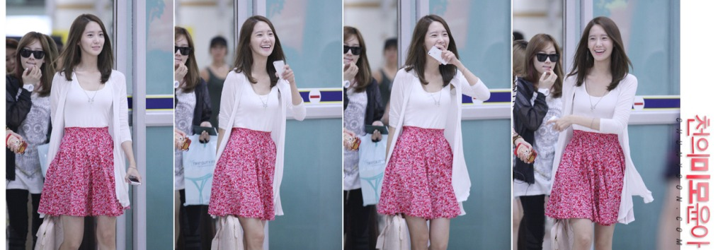 [Photos] 12.07.10 Yoona at Incheon Airport