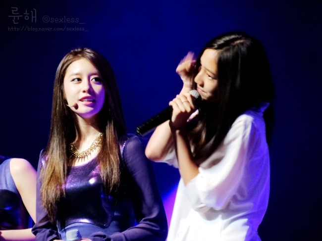 [Photo] Jiyeon & Dani at T-ara Fanmeeting