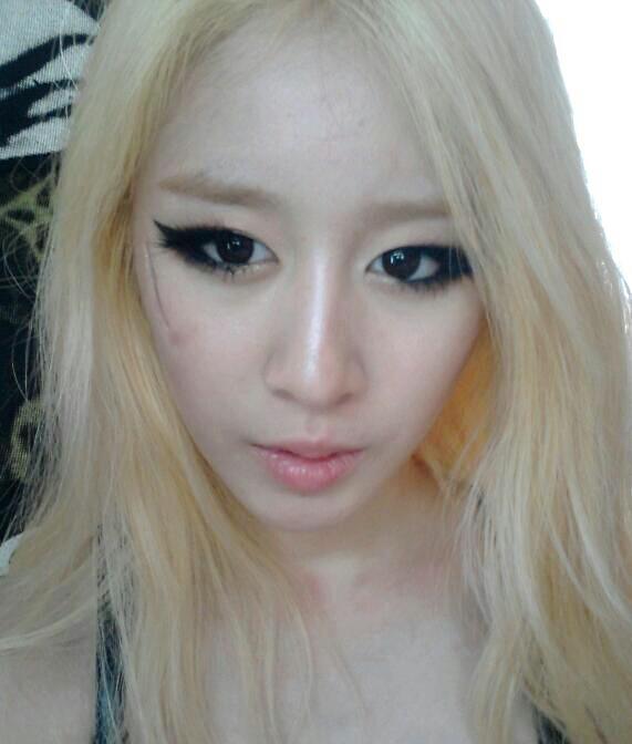 [Twitpic] 12.06.30 Jiyeon's New Selca