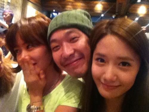 12.07.16 Yoona & Son Ye Jin with quanninomarley