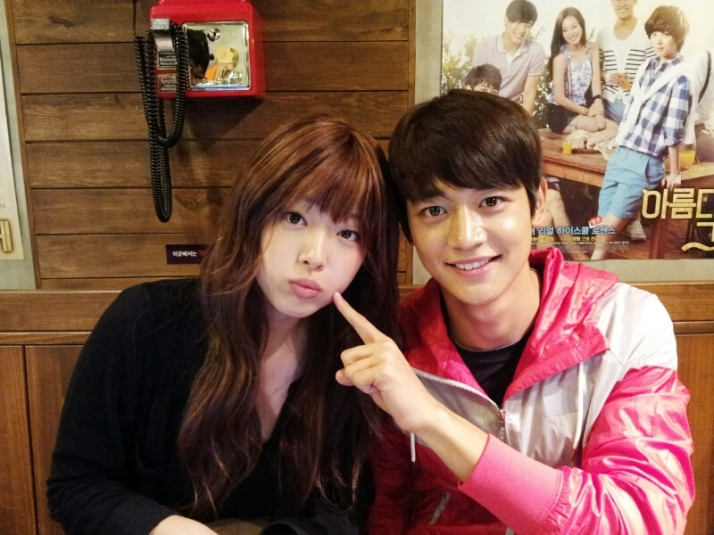 [me2day] Sulli with Minho
