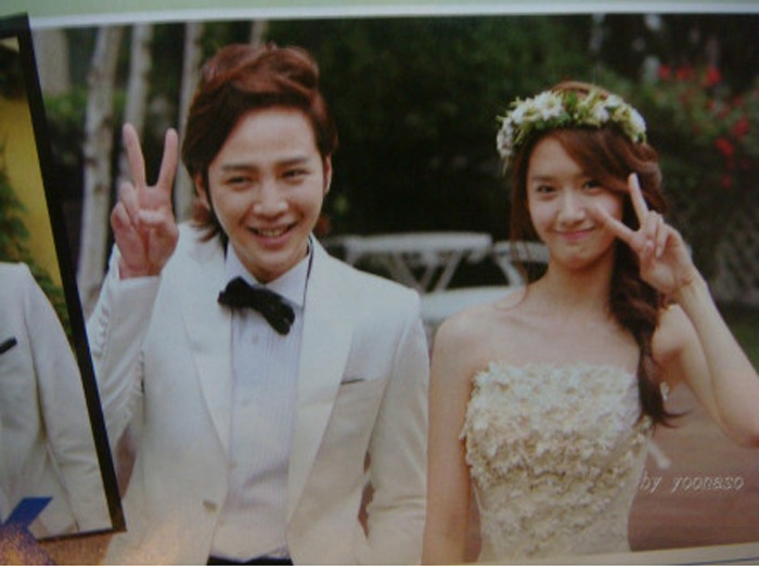 [Photo] Love Rain - JGS & Yoona's Wedding Photo