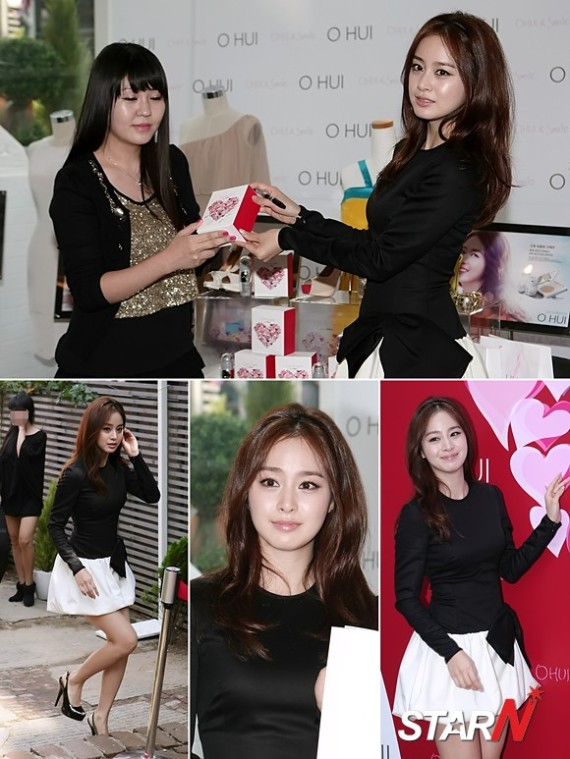 [Photos] 120922 Kim Tae Hee at OHUI Charity Bazaar Event