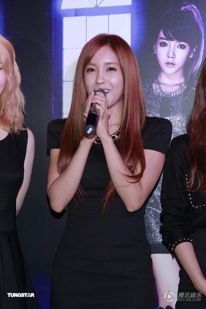 [Photo] 120917 Hyomin at Hk Showcase