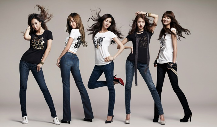 [Photo] SNSD (Yoona,Yuri,Jessica,Seohyun & Sooyoung)'s Cool Picture