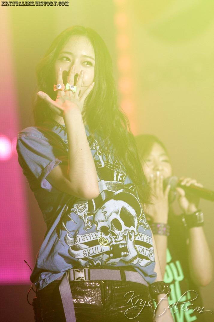 [Photo] 120909 Krystal at Pepsi fun time Concert