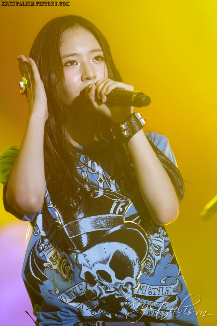 [Photo] 120909 Krystal at Pepsi fun time Concert