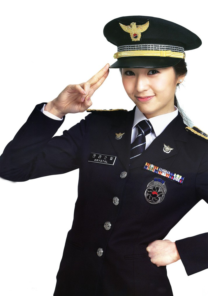 [Photo] 120911 Krystal - National Police Agency