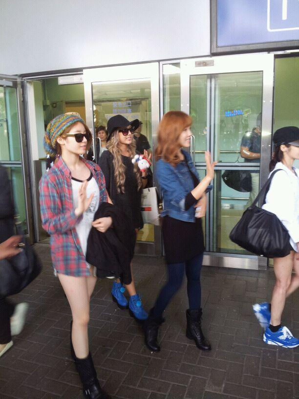 [Photo] 120917 T-ara at Incheon International Airport (to Hong Kong)