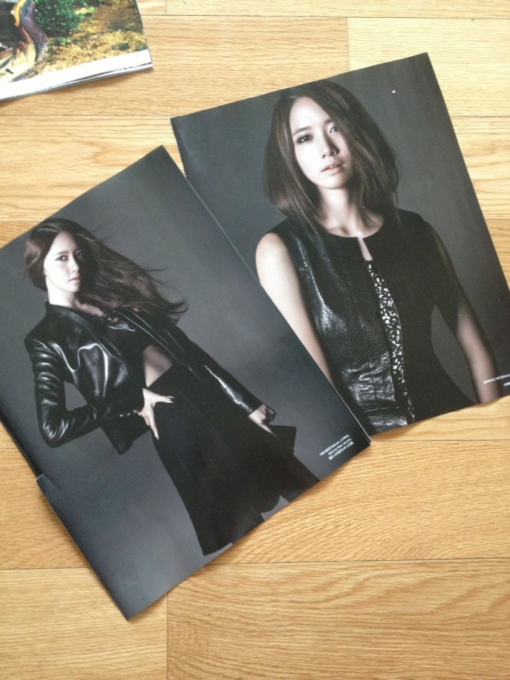 [Photo] Yoona on Bazaar Magazine Oct Issue