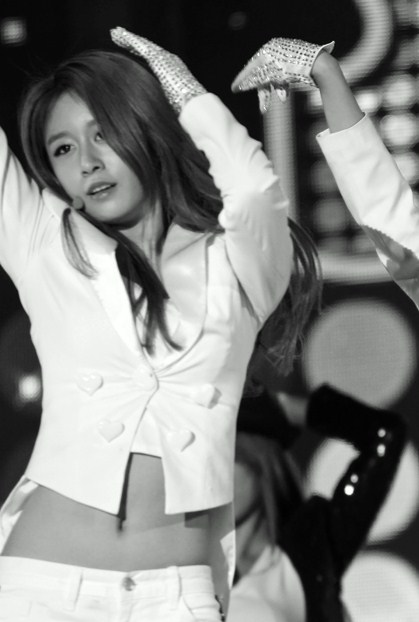 [Photo] Sexy Jiyeon at Jeju Island Concert of Kpop Nature