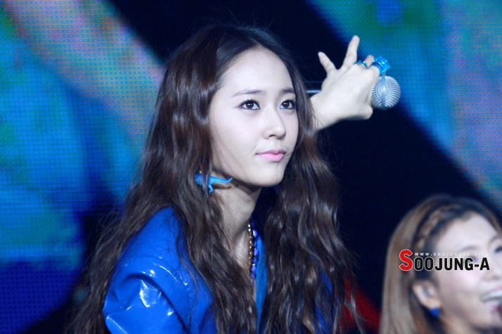 [Photo] Krystal at SM Town in Jakarta