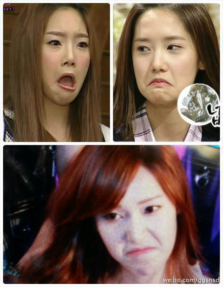 [Photo] DERP Faces of Yoona,Jessica & Taeyeon