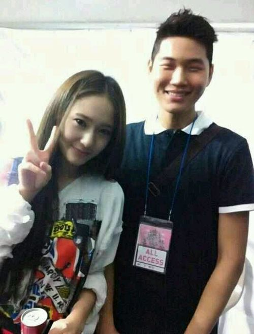 [Photo] Krystal with Fan