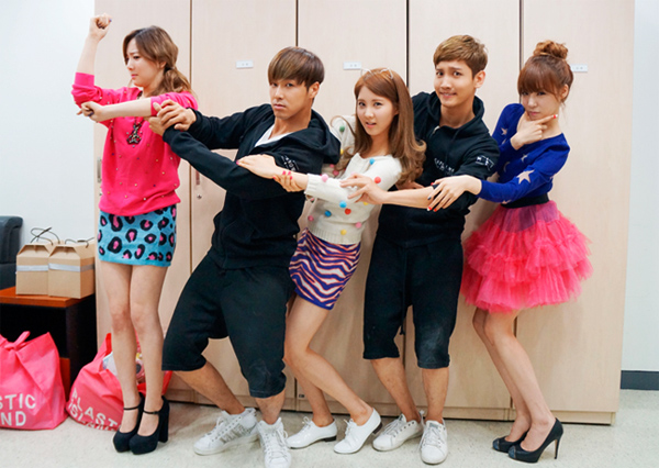 [Photo] 121007 TaeTiSeo with TVXQ
