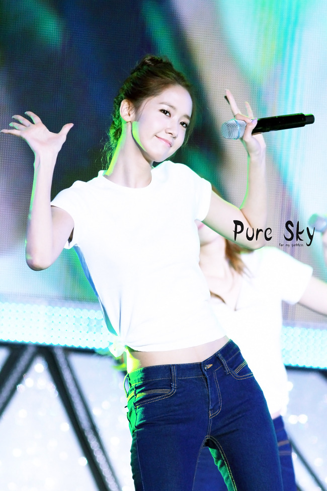 [Photo] 121007 Yoona at Gangnam Concert