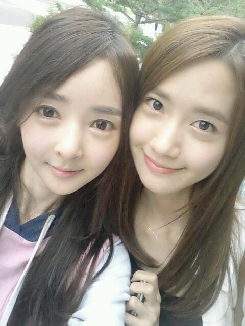 [Photo] 121013 Yoona with her friend