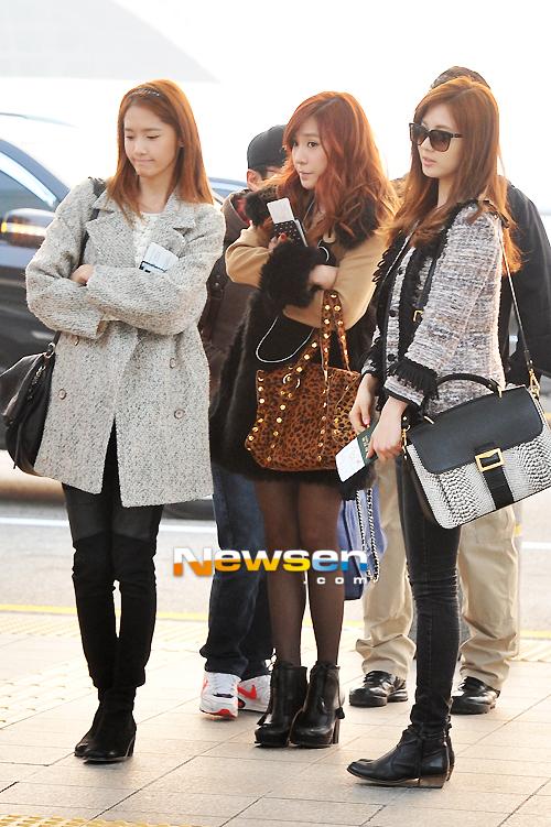 Photos 121122 Snsd Yoona Yuri Jessica Seohyun Hyeyeon