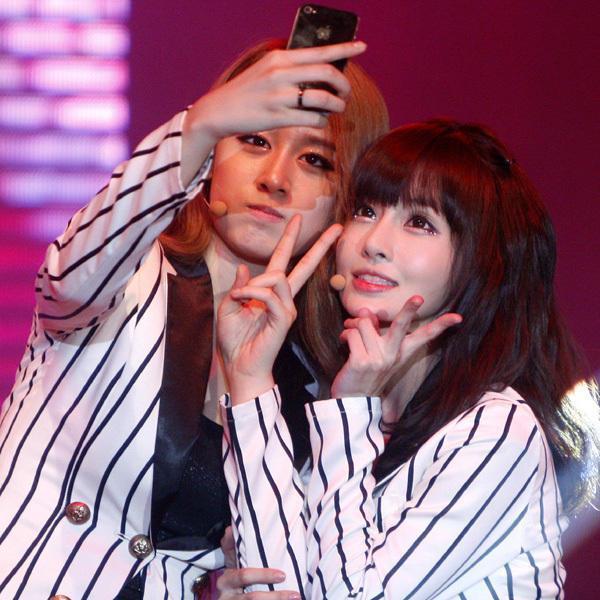[Photo] Jiyeon & Boram at Concert