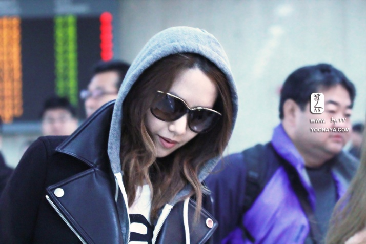 [Photo] 121106 Yoona at Gimpo airport