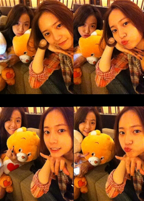[me2day] 121125 Krystal's Me2day Update with Victoria