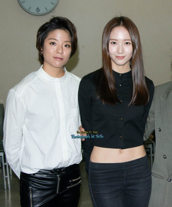 [PHOTOS] 121128 Krystal & - 19th Republic of Korea Entertainment Arts Awards2
