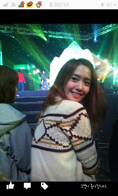130109 Yoona at Gag concert