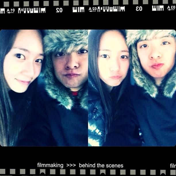 [Instagram] 130109 Krystal and Amber