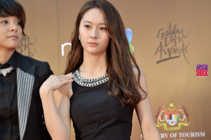 [PHOTO] Krystal Jung at Golden Disk Awards