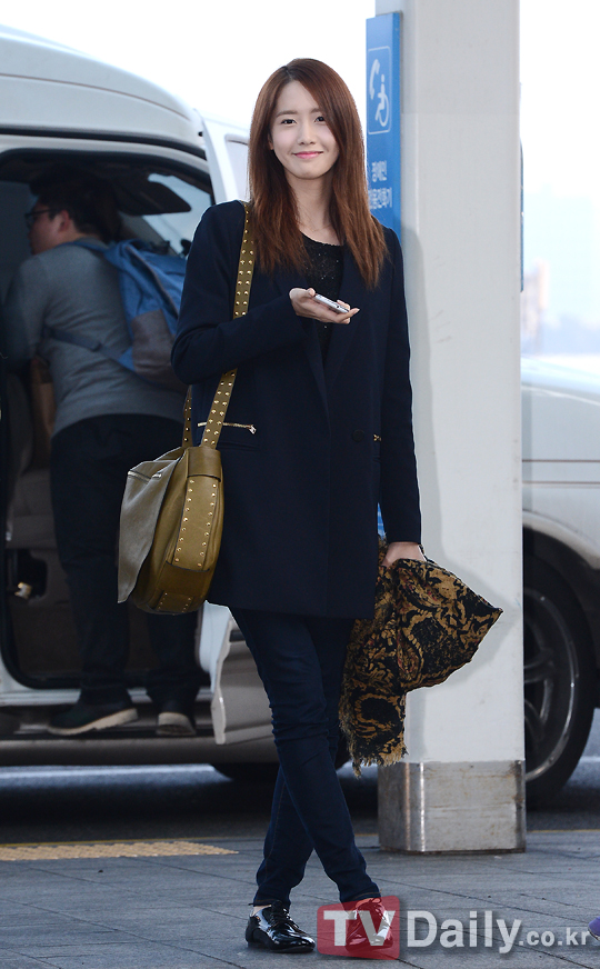 Photos 130308 Yoona Snsd At Incheon Airport Pictures Yoontaeyeon
